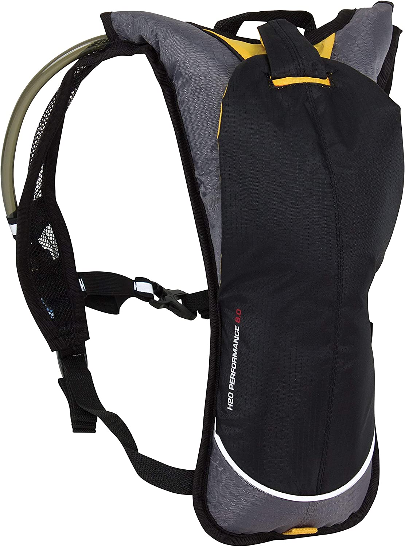 2 Litre Spokey Unisexs Hydro Cycling//Jogging Backpack Grey//Blue//Orange