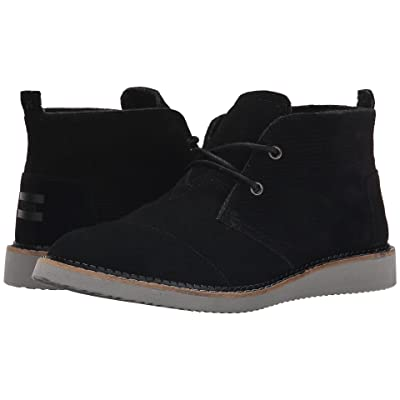 TOMS Mateo Chukka Boot (Black) Men