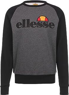 Ellesse Men's Triviamo Sweatshirt, Grey