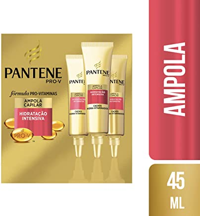Ampola Pantene Cachos Hidra-Vitaminados 3 Unidades x 15 ml