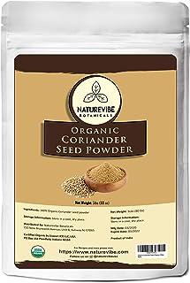 Sponsored Ad - Naturevibe Botanicals USDA Organic Coriander Seed Powder - 5lbs - Coriandrum sativum | Raw, Gluten-Free & N...
