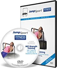 JumpSport Fitness Trampoline Workout DVDs   Strength & Resistance Training   Kettlebell and Flat Bands Options Available