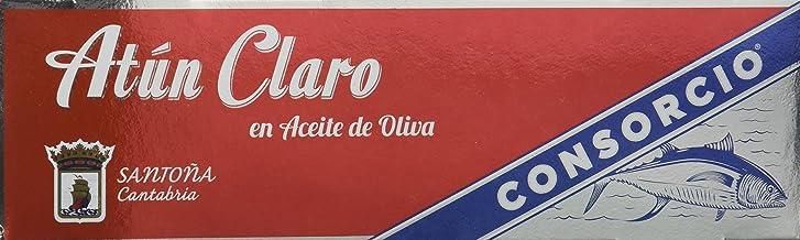 Consorcio Atún Claro en Aceite de Oliva - 8 Paquetes de 85 gr