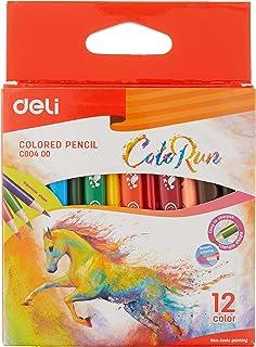 Deli C09900 Colored Pencil - 12 Colors