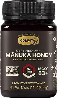 Comvita Certified UMF 5+ (MGO 83+) Raw Manuka Honey I New Zealand's #1 Manuka Brand I Authentic | Non-GMO Superfood for ...