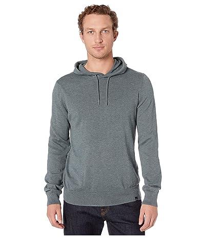 Prana Kaola Hooded Sweater (Smoky Blue) Men
