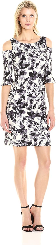 JessicaHoward Womens Cold Shoulder Shift Dress