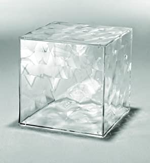 Kartell 3510B4 Cube de rangement avec porte Optic (Transparent)