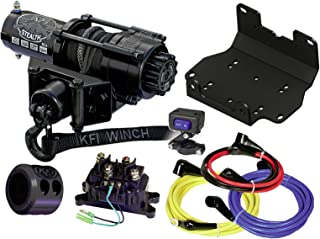 KFI Combo Kit - SE25 Winch & Winch Mount - 2016-2018 Yamaha Grizzly 700 & 2016-2018 Kodiak 700 ATV