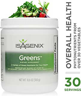 Isagenix Greens™ - 30-serving canister