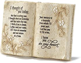 Best Jozie B 246200 Thought of You Today in Memory Book Shape Plaque Review