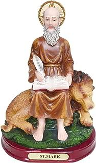 8.5 Inch Saint Mark Statue St. Mark Statue San Marcos De Leon Statue