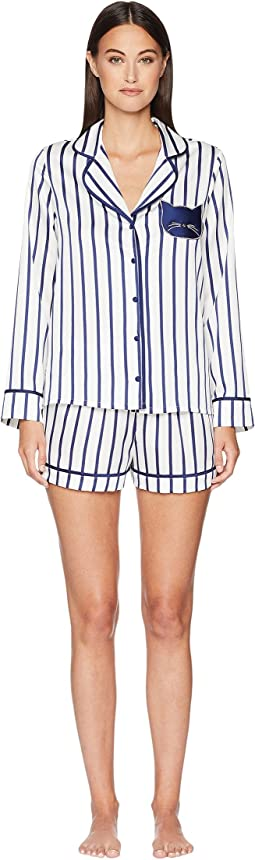 Stripe Short Pajama Set