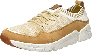 (8.5 UK, Brown (Tan)) - Clarks Men's Triactive Knit Trainers