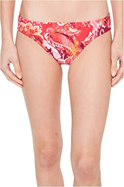 LAUREN Ralph Lauren - Exotic Paisley Printed Hipster Bottom