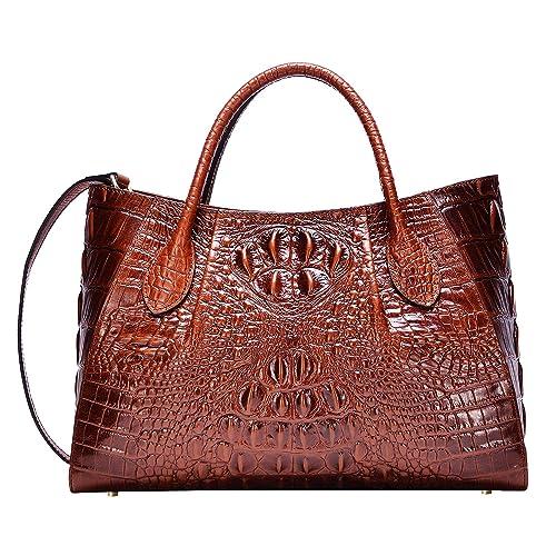 Crocodile Leather Bag Amazoncom