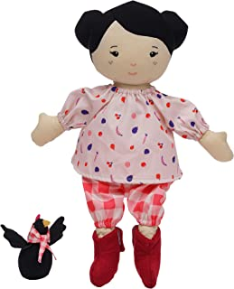Manhattan Toy Playdate Friends Nico Machine Washable and Dryer Safe 14 Inch Doll with Mini Rooster Stuffed Animal