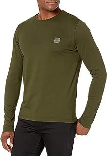 Hugo Boss Men's Basic Long Sleeve T-Shirt with Logo