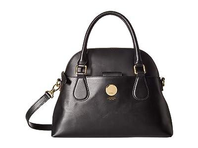 Lodis Accessories Rodeo Katelyn Satchel (Black) Satchel Handbags