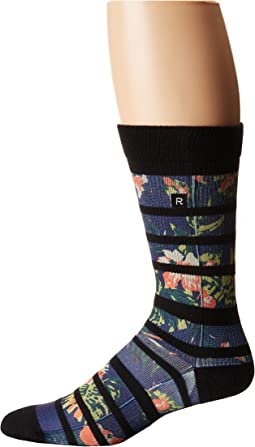 Richer Poorer Hibiscus Athletic Socks