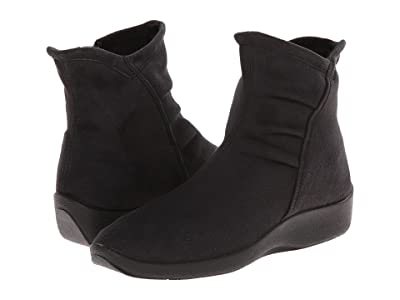 Arcopedico L19 (Black Faux Suede) Women