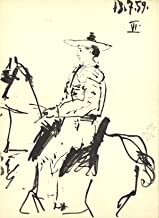 Pablo Picasso Man on a Horse 14.5