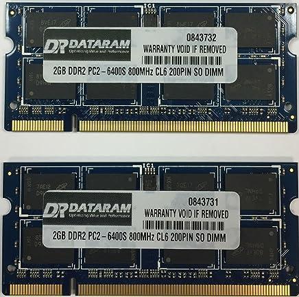 4?GB ( 2?x 2gb ) ddr2メモリfor Toshiba nb200?107