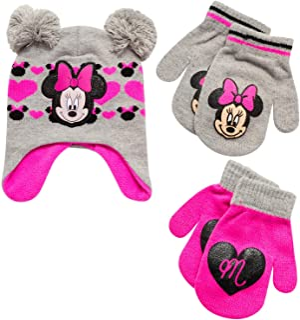 مینی موس دخترانه و کلاه زمستانی Vampirina و ست دستکش یا دستکش 2 جفت (کودک نوپا/دختر کوچک)