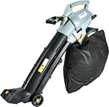 electric leaf vacuum blower and shredder