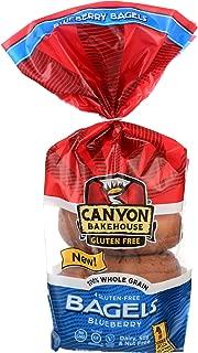 Canyon Bakehouse Bagel Blueberry, 14 oz, 4 ct