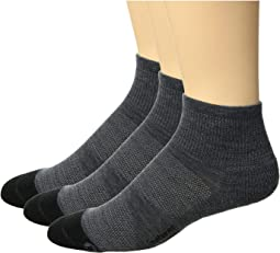Merino 10 Cushion Quarter 3-Pair Pack