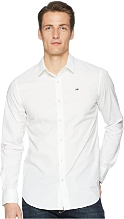 Stretch Long Sleeve Button Down Shirt