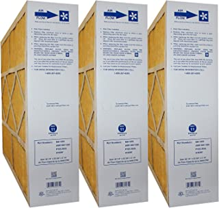 M8-1056 20x25x5 (Actual Size: 20-1/4 x 25-3/8 x 5-1/4) Amana & Five Seasons MERV 11 Media Filter (3 Pack)