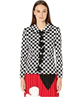 Boutique Moschino - Check Blazer