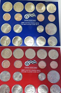 2009 PDS U.S. Mint - 36 Coin Uncirculated Set with COA Set Uncirculated Brilliant Uncirculated