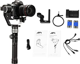 AFI D3 Camera Stabilizer 3-Axis Gimbal Handheld for DSLR Mirrorless Cameras up to 8lbs / 3.6kg Payload for Sony Nikon Canon Panasonic Lumix, Black