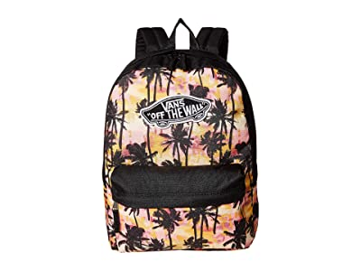 Vans Realm Backpack (Sunset Palms) Backpack Bags