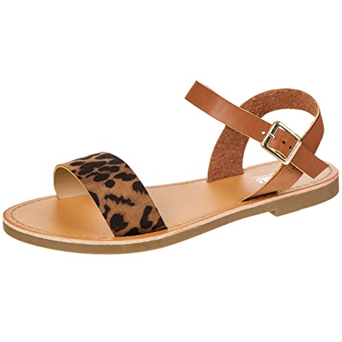 3ae4f7ad5b Women's Shoe Comfort Simple Basic Ankle Strap Flat Sandals