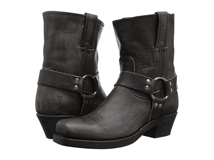 Frye  Harness 8R (Smoke Washed Oiled Vintage) Womens Pull-on Boots