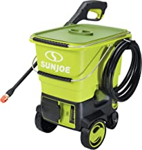 Sun Joe SPX6001C-XR 1160 PSI Max Cordless Pressure Washer, Kit (w/5.0-Ah Battery + Quick Charger)