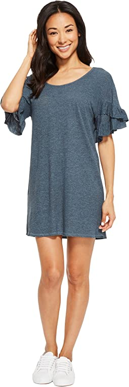 Lanston Ruffle Tee Dress