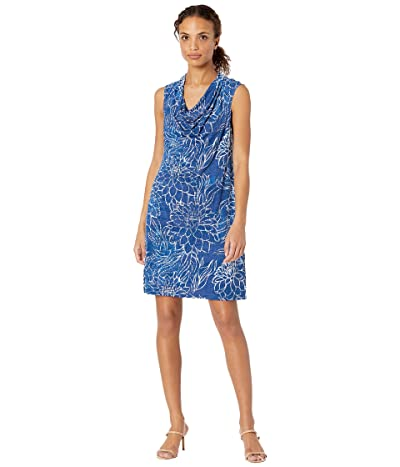Tommy Bahama Bungalow Blooms Cowl Dress