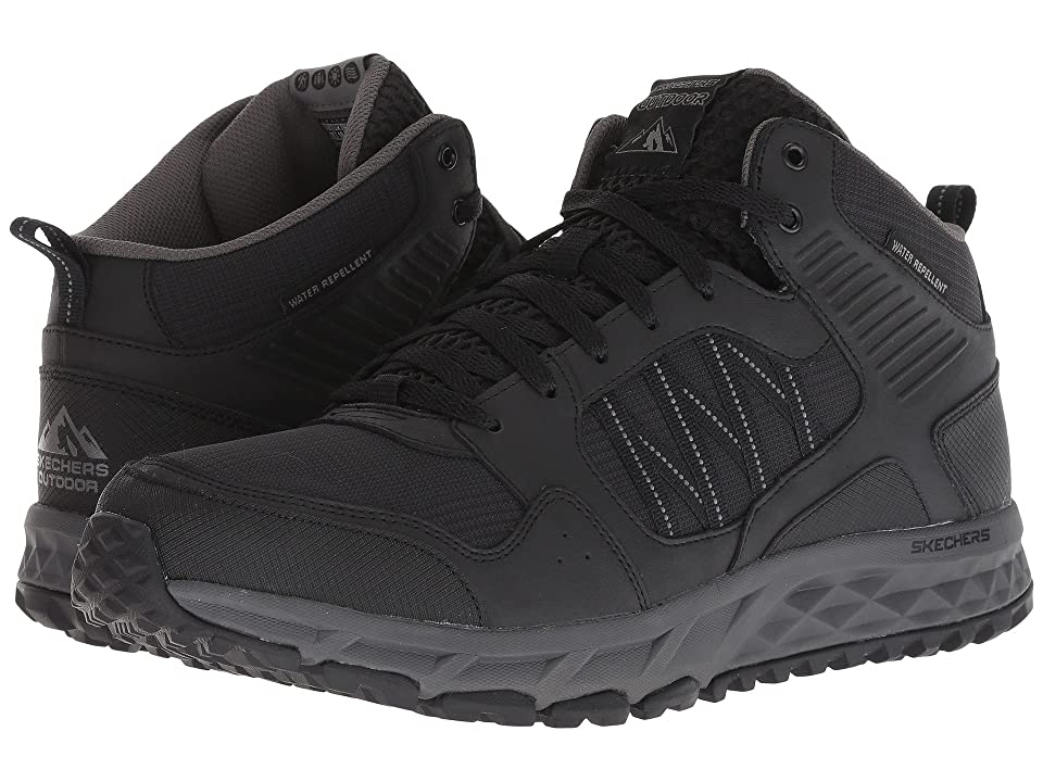 SKECHERS Escape Plan Second Bite (Black/Charcoal) Men