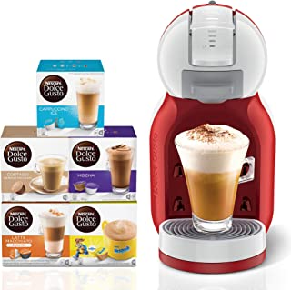 Nescafe Dolce Gusto Mini Me Coffee Machine, Red