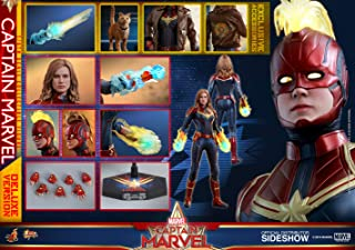 Hot Toys Avengers Movie Masterpiece Series MMS522 Carol Danvers Captain Marvel Deluxe Version 1/6 Sixth Scale Collectible ...