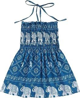 Toddler Girl Summer Dress Camisole Princess Sleeveless Halter Beach Sundress Girls Dress