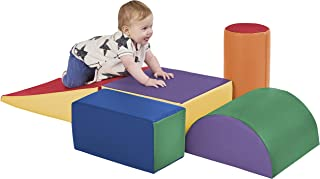 ECR4Kids - ELR-12683 SoftZone Climb and Crawl Activity Play Set, Lightweight Foam Shapes for Climbing, Crawling and Slidin...