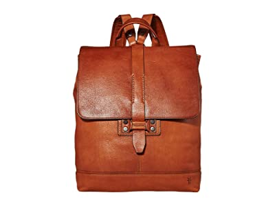 Frye Bowery Backpack (Caramel) Backpack Bags