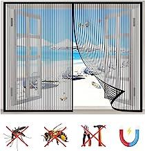 Magnetisch raamscherm, vliegenvenster scherm gaas insectenvervoer, sluit automatisch, voor alle soorten venster-zwart-a|| ...