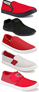 Shoefly Sports Running Shoes/Casual/Sneakers/Loafers Shoes for Men&Boys (Combo-(5)-1219-1221-1140-384-1169)